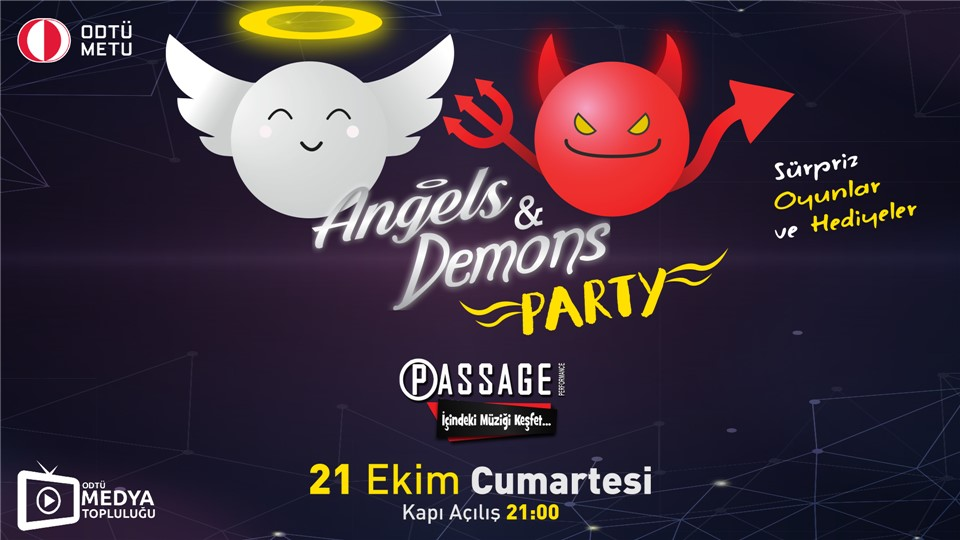 Angels&Demons Party