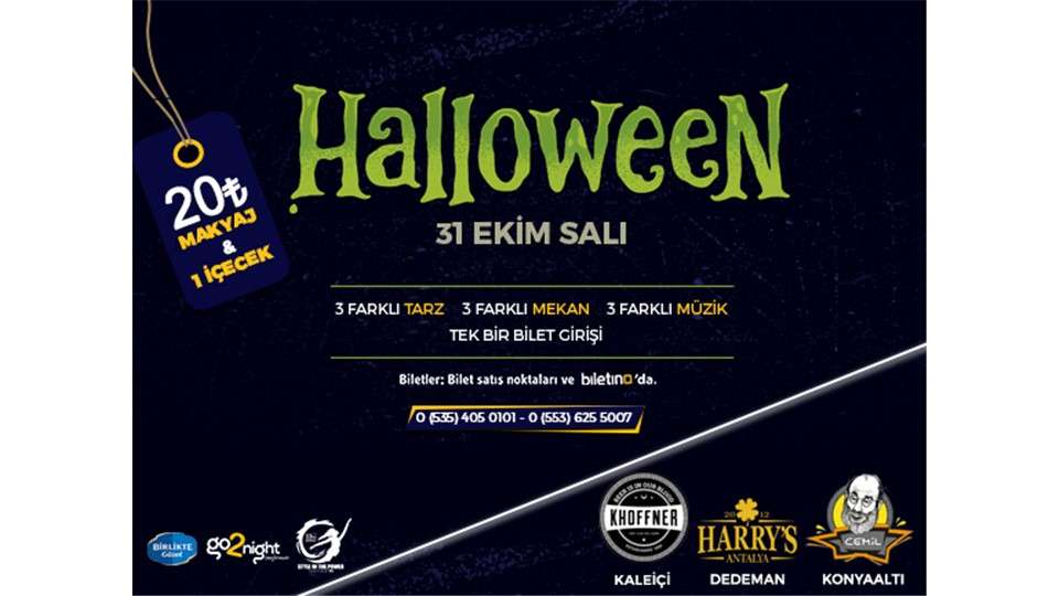 Halloween Nights w/ Go2night presents
