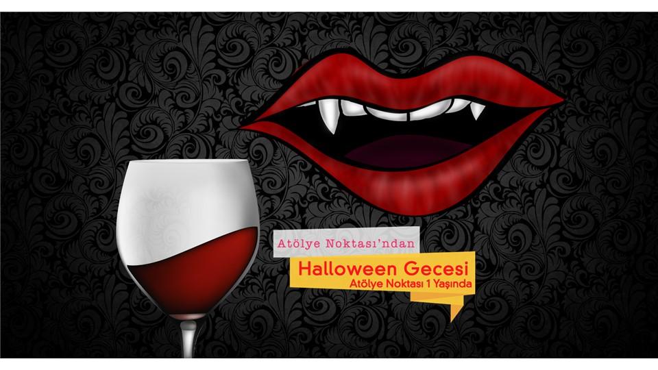 Halloween Gecesi - Atölye Noktası 1 Yaşında