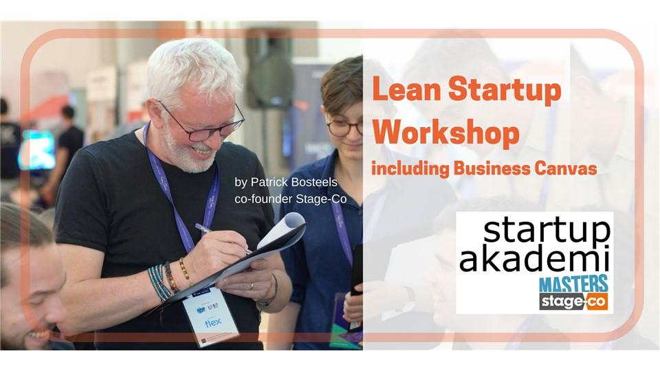 Lean Startup & Business Canvas Workshop
