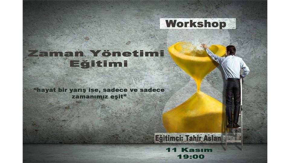 Zaman Yönetimi Eğitimi Workshop