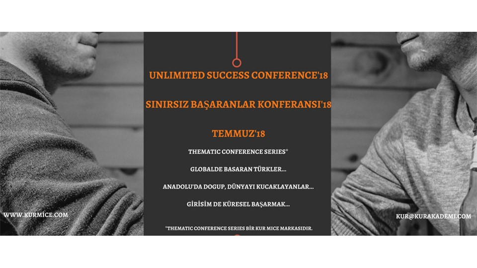SINIRSIZ BAŞARANLAR KONFERANSI_UNLIMITED SUCCESS CONFERENCE