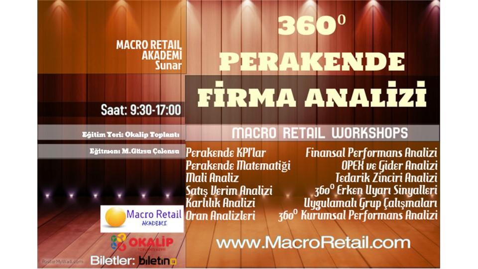360⁰ Perakende Firma Analizi