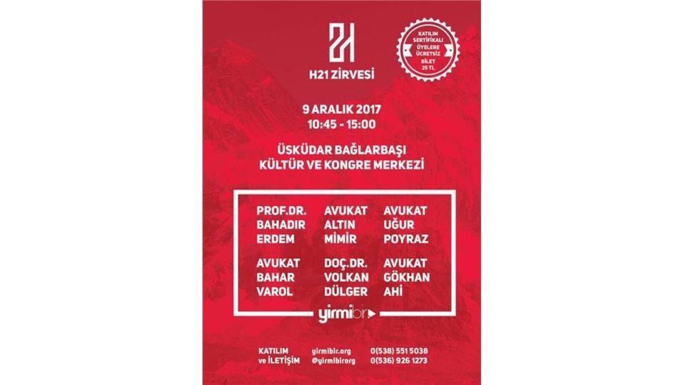 H21 ZİRVESİ