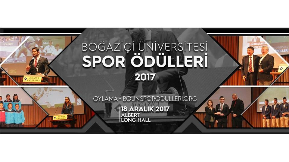 Boğaziçi Üniversitesi Spor Ödülleri 2017
