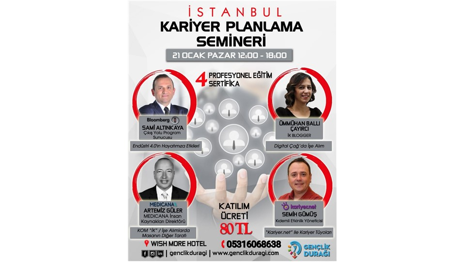 İstanbul Kariyer Planlama Semineri