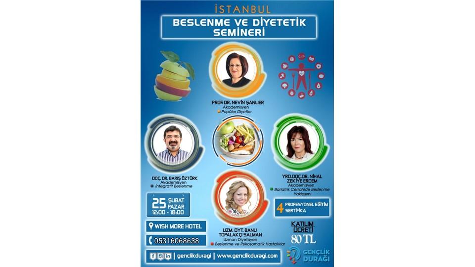 İstanbul Beslenme ve Diyetetik Semineri