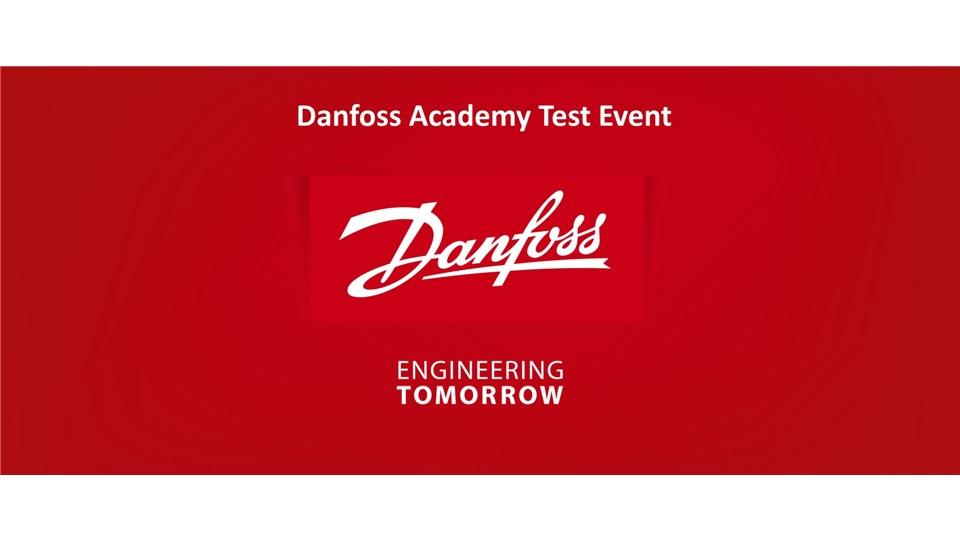 Danfoss Akademi Test Eğitimi
