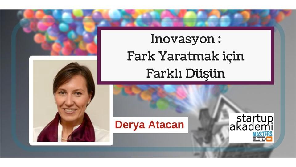 Inovasyon: Fark Yaratmak için Farklı Düşün