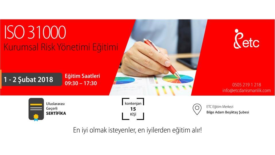 ISO 31000 Kurumsal Risk Yönetimi Eğitimi