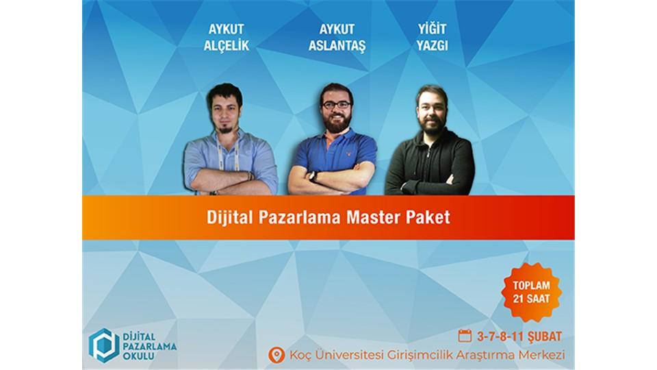 Dijital Pazarlama Master Eğitimi