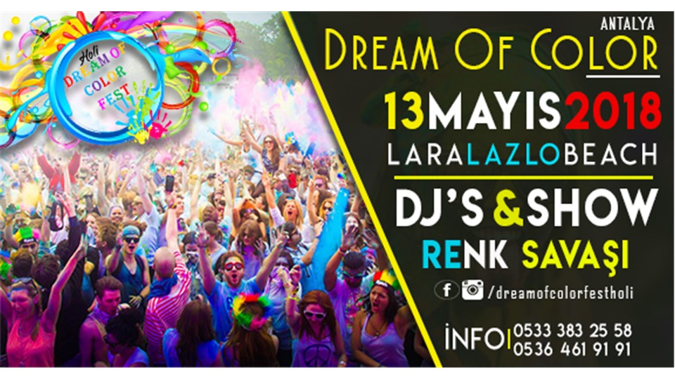 Antalya Dream Of Color Fest ' 18