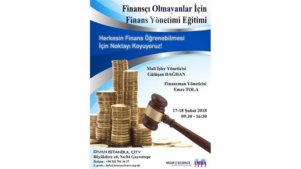 Finançı Olmayanlar için Finans Yönetimi Eğitimi