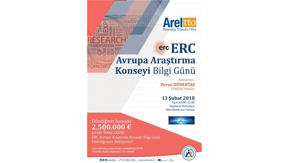 ERC Avrupa Araştırma Konseyi Bilgi Günü