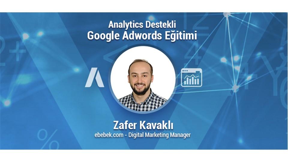 Analytics Destekli Google Adwords Eğitimi (İndirimli 499TL)