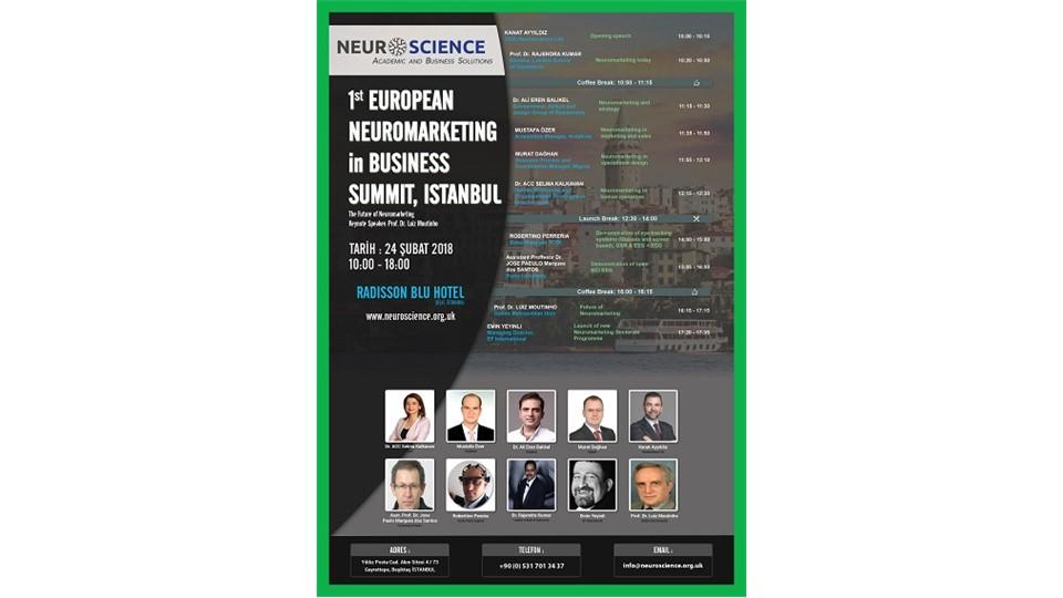 1st European Neuromarketing in Business Summit, Istanbul
