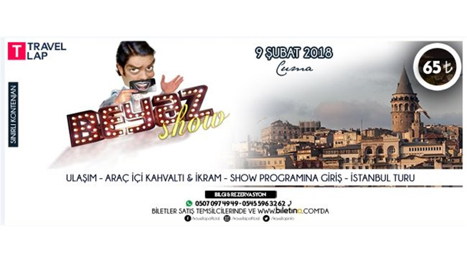 Travel Lap Sunar: Beyaz Show & İstanbul Turu