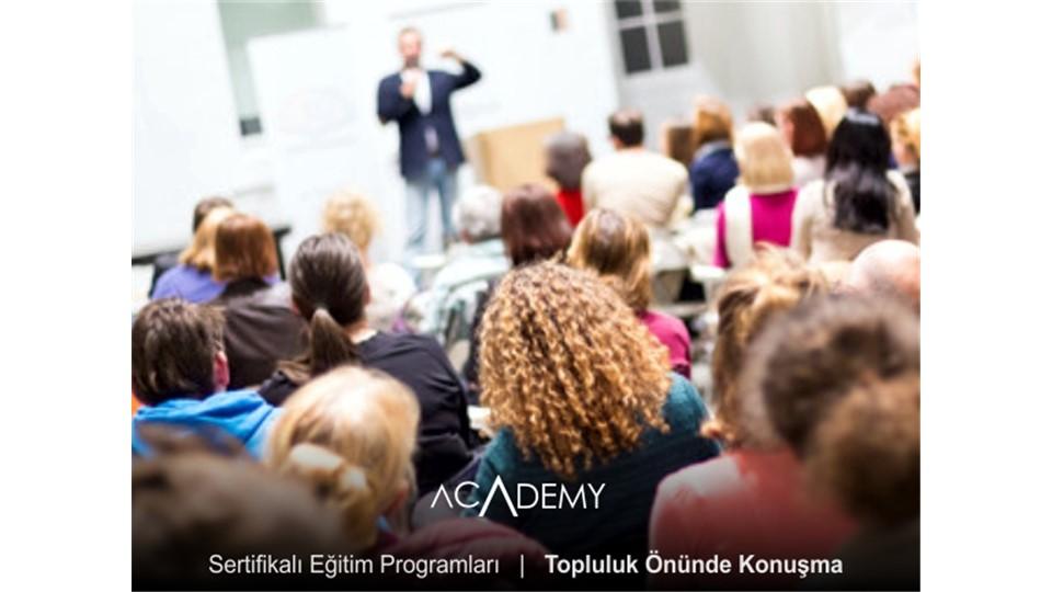 Topluluk Önünde Konuşma Eğitimi