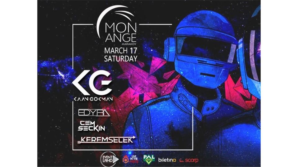 EVENTLAND Istanbul Presents: Electronic Dance Music Night @MonAnge Karaköy