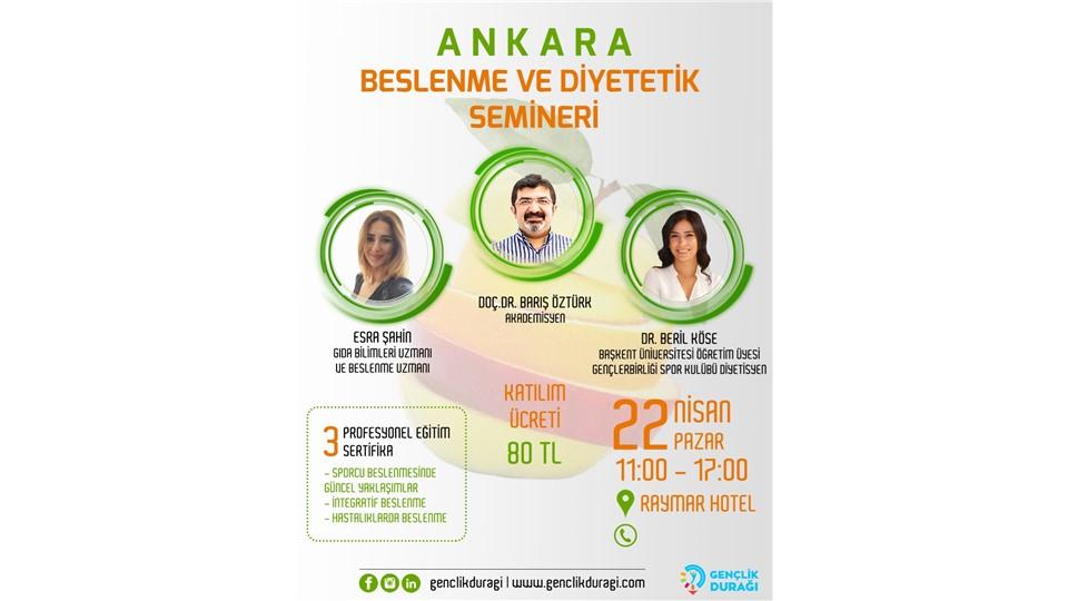 Ankara Beslenme ve Diyetetik Semineri