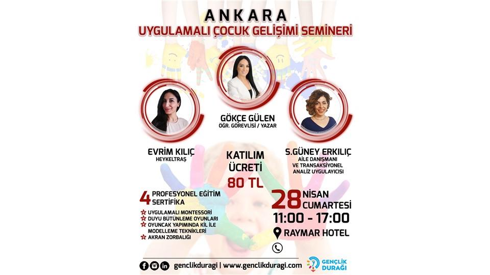 Ankara Uygulamalı Çocuk Gelişimi Semineri
