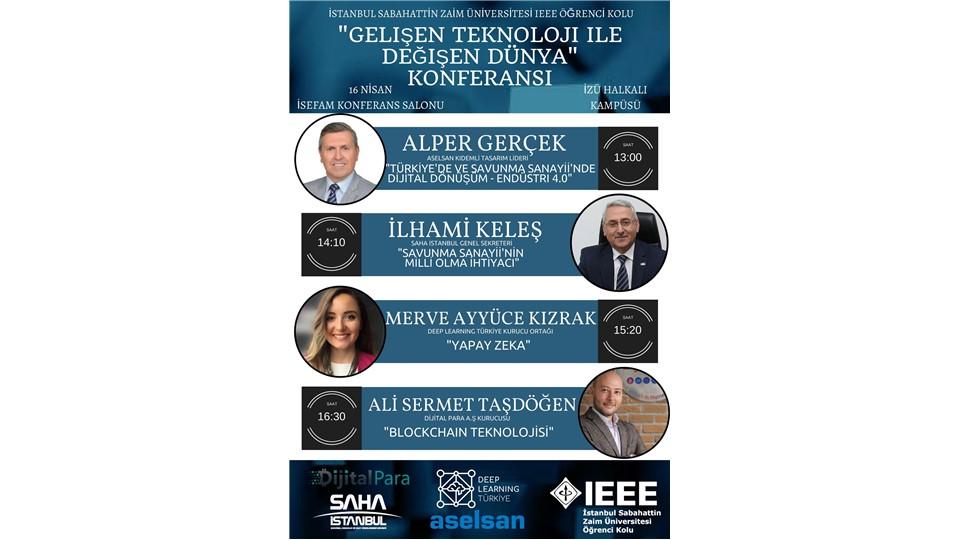IEEE İZÜ Mühendislik ve Teknoloji Günleri'18