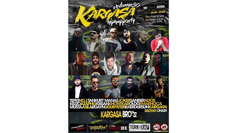 Kargaşa HipHop Festivali Volume 30