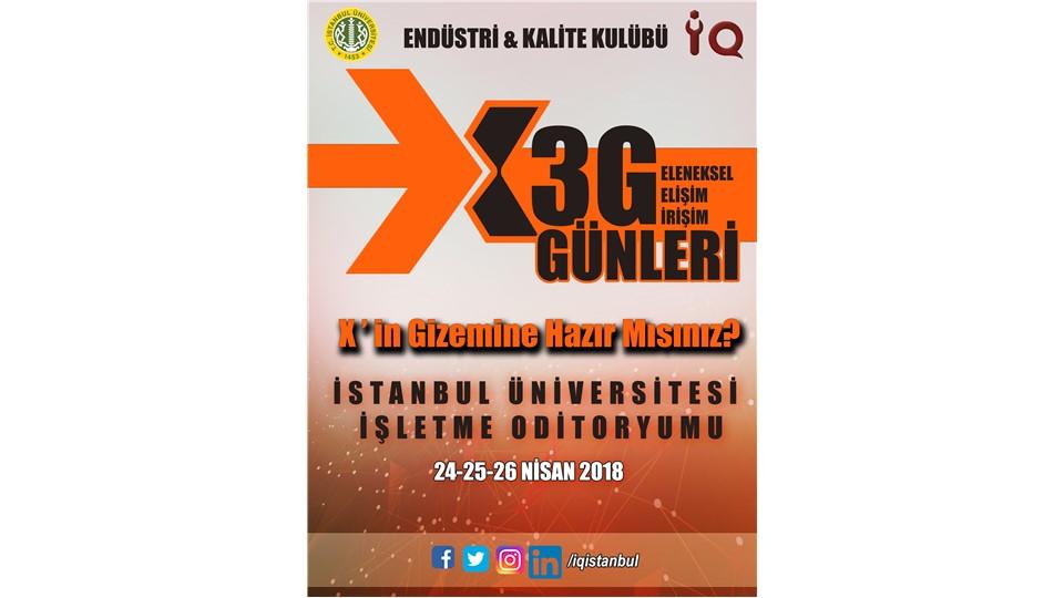 X.3G Geleneksel Girişim Gelişim Günleri