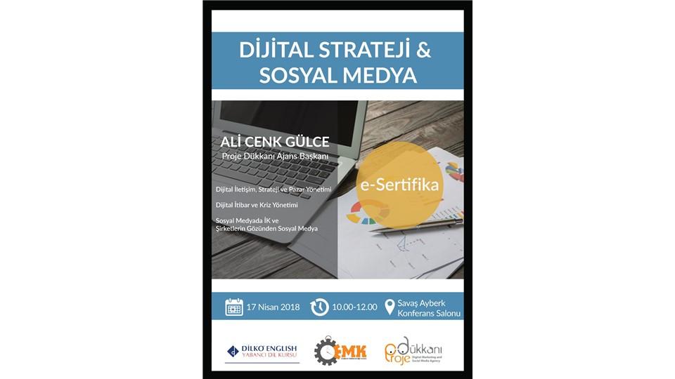 Dijital Strateji ve Sosyal Medya