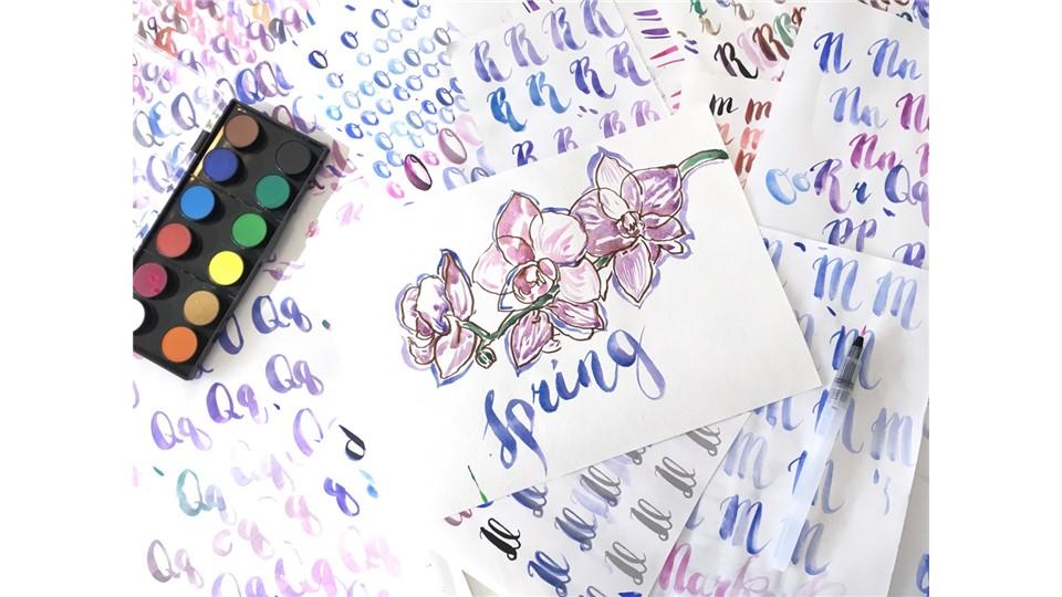 Fırça ile Kaligrafi Atölyesi (3 gün) / Water-Brush Calligraphy Workshop (3 days)