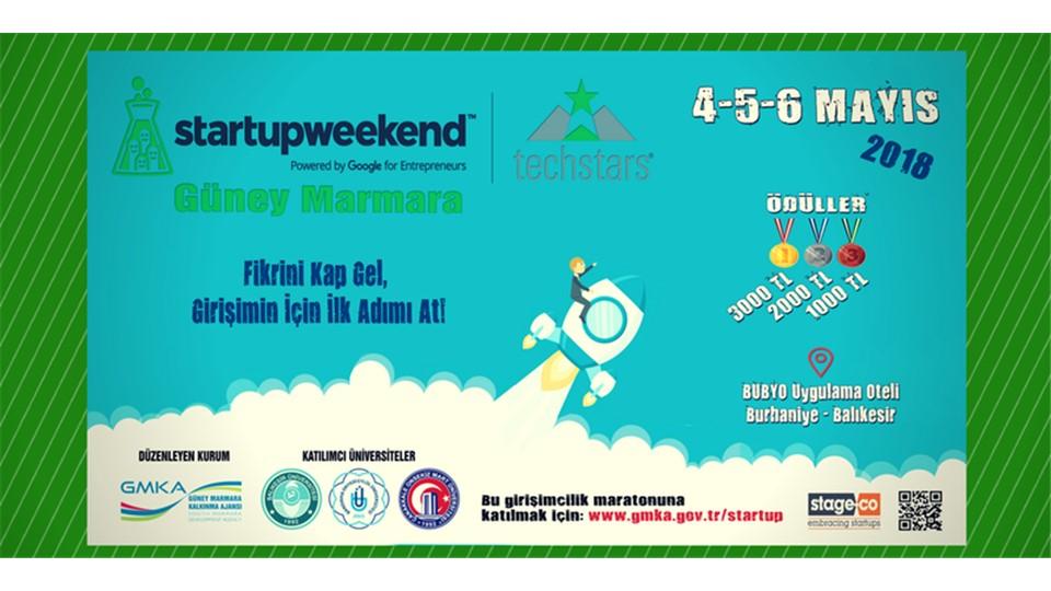 Techstars Startup Weekend Güney Marmara!