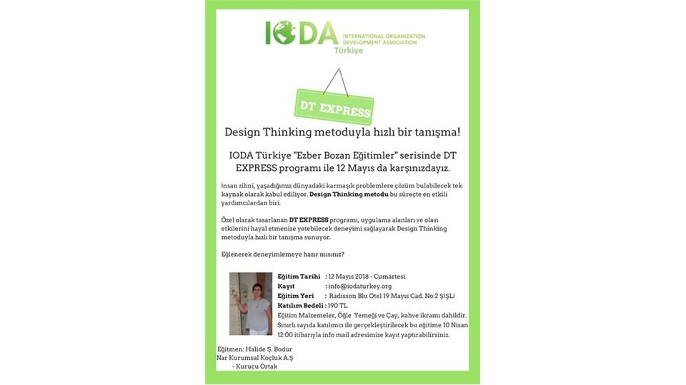 DT Express - Design Thinking metoduyla hızlı bir tanışma!