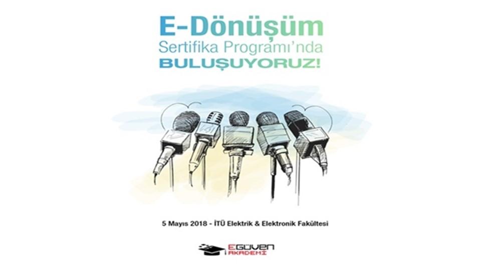 E-Dönüşüm Sertifika Programı