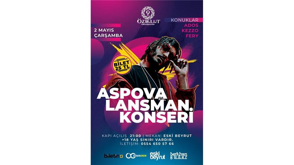Aspova Lansman Konseri (Gece)