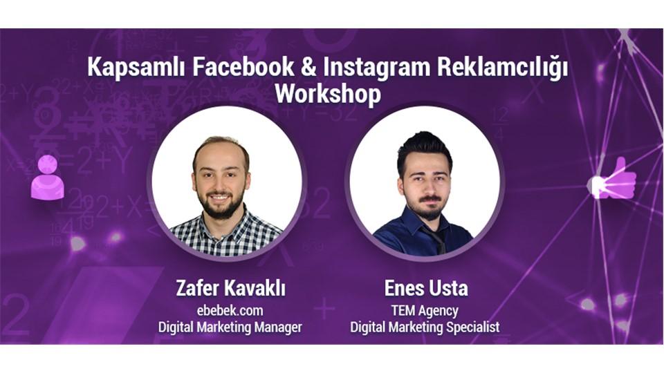 Kapsamlı Facebook & Instagram Reklamcılığı Workshop 2 Hafta 649 TL