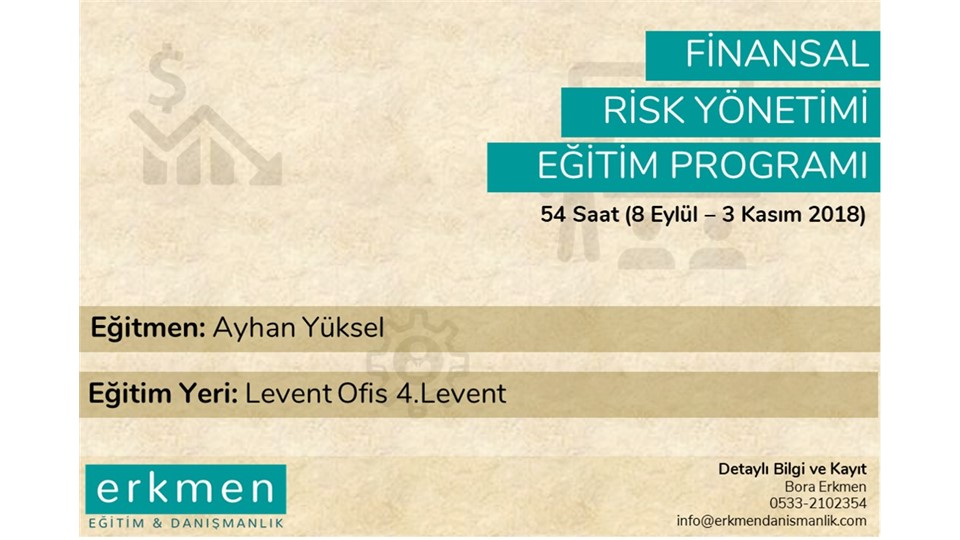Finansal Risk Yönetimi Eğitimi