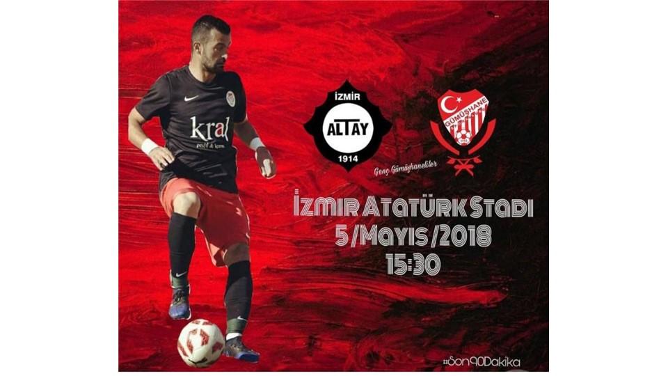 Altay - Gümüşhanespor Maç Bileti