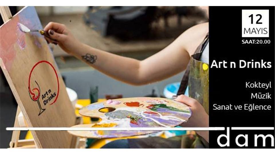 Art N Drinks: Workshop & Party