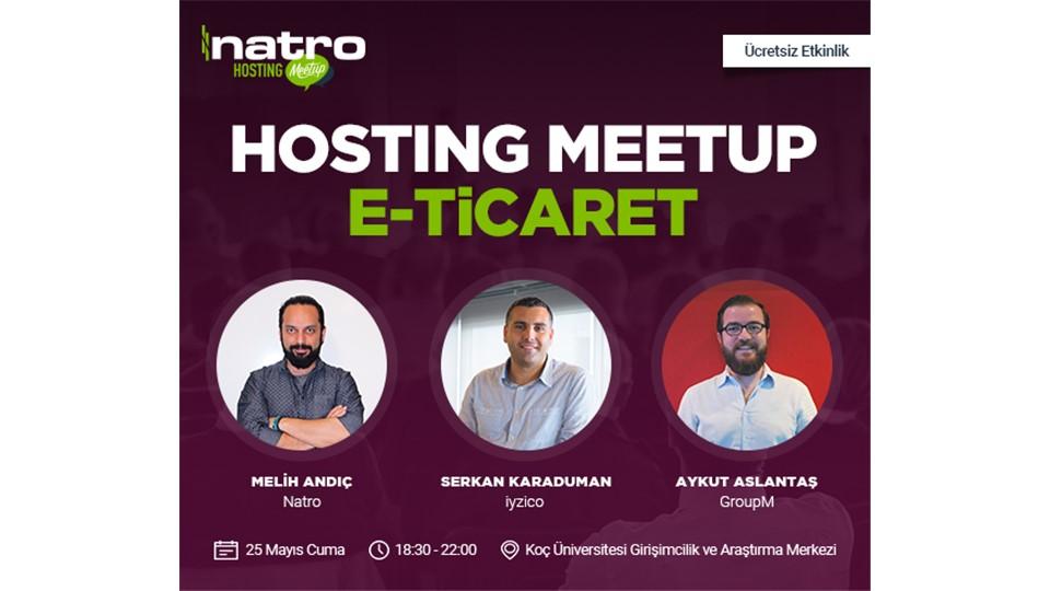 Hosting Meetup | E-ticaret