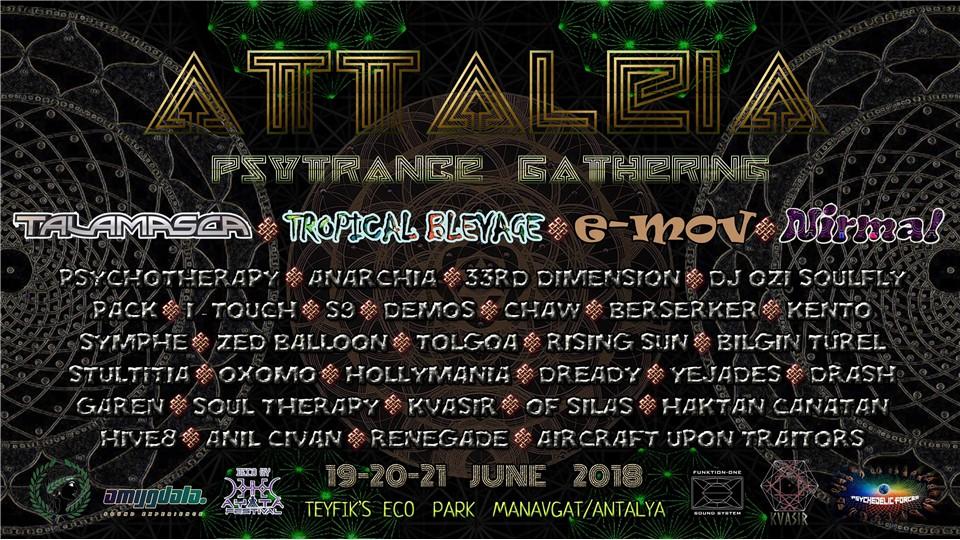 Attaleia Psytrance Gathering  2018