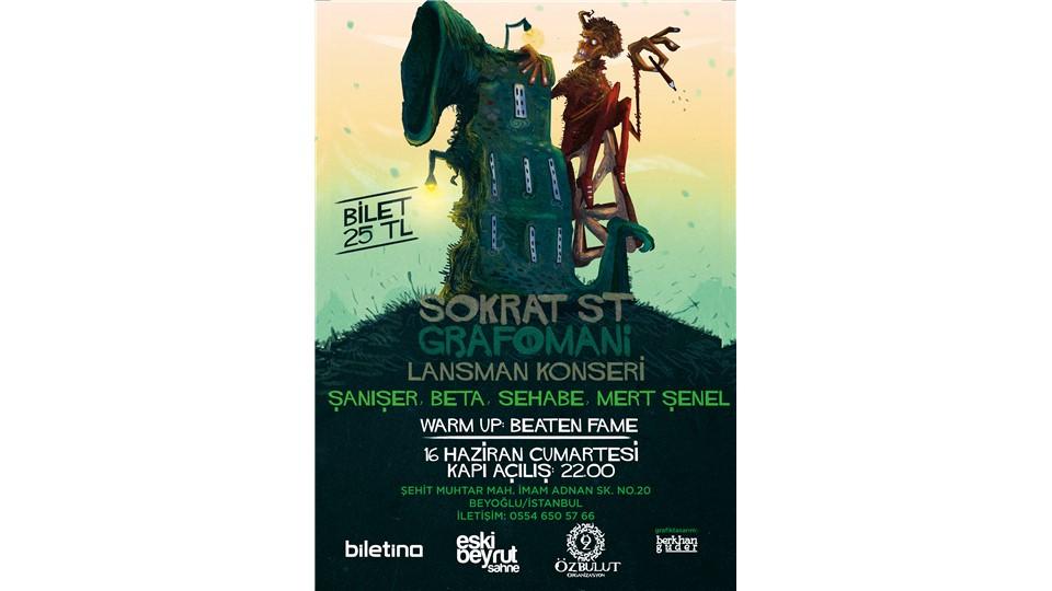 Sokrat St - Grafomani Lansman Konseri