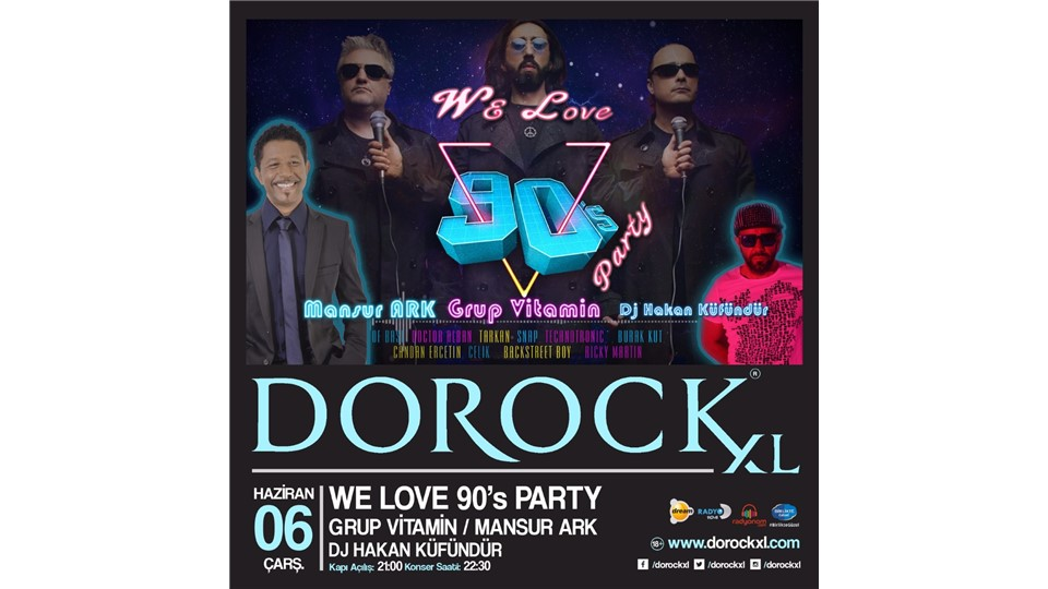 WE LOVE 90`s PARTY