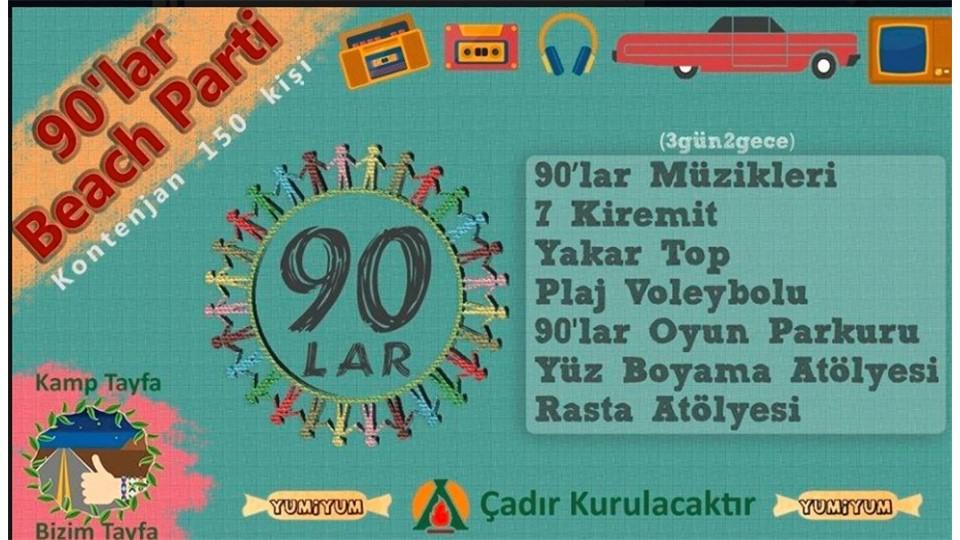 90'lar Kampı / Hayal Köyü / Kamp Tayfa