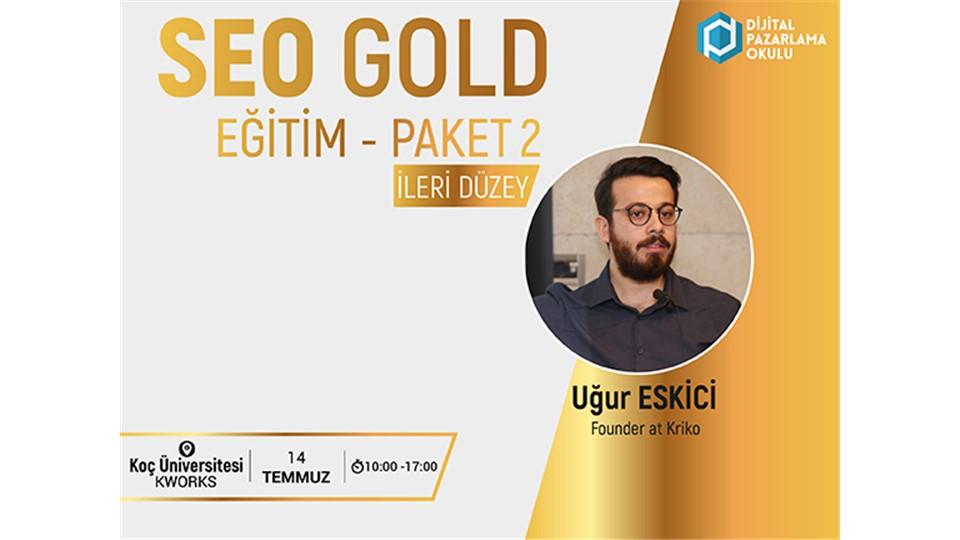 SEO Gold Paket 2 - İleri Düzey