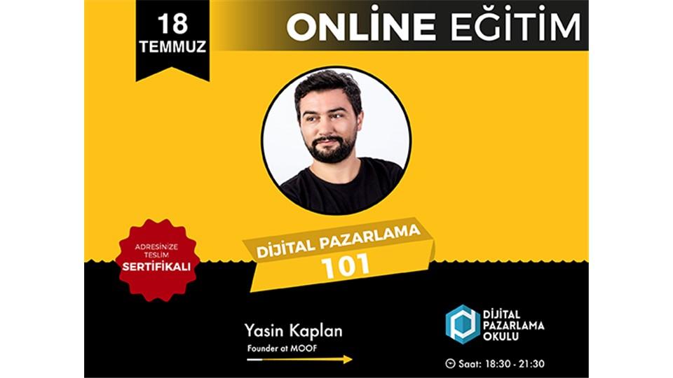 Dijital Pazarlama 101 Online Eğitim