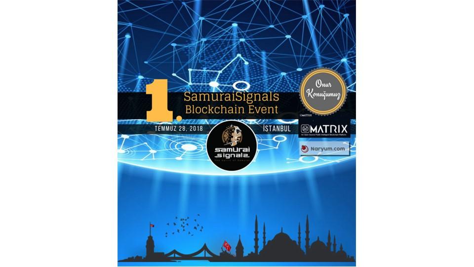 1.SamuraiSignals Blockchain Event - Istanbul