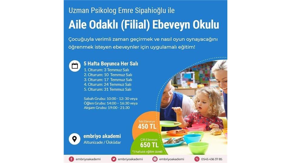 Aile Odaklı (Filial) Ebeveyn Okulu