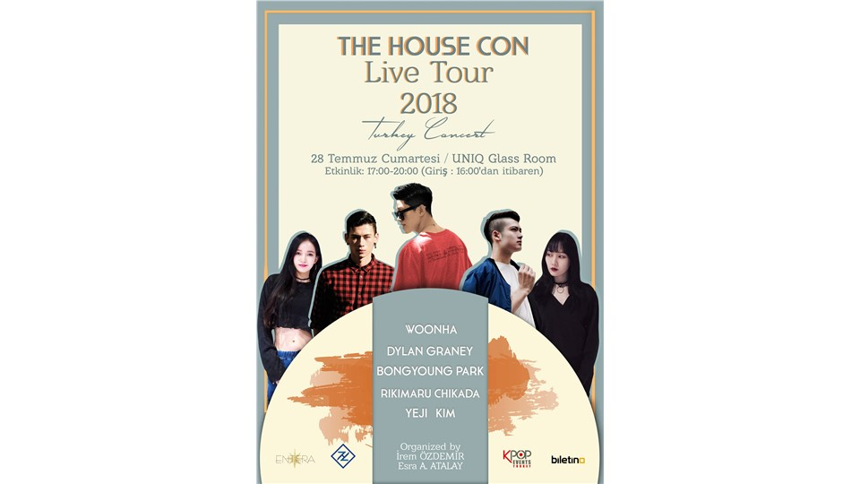 TheHouseCon 2018 Live Tour Turkey Concert