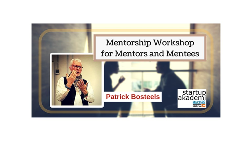 Mentorship for Startups By Patrick Bosteels
