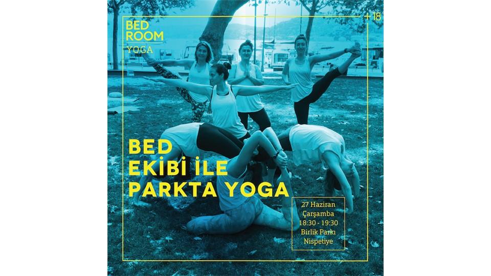 BEDroom+18 Ekibi ile Parkta Yoga!